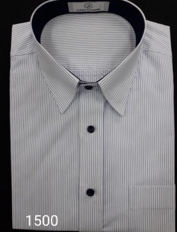 Camisa masculina manga curta, longa ou slim