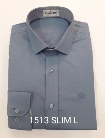 Camisa masculina manga curta, longa ou slim várias cores