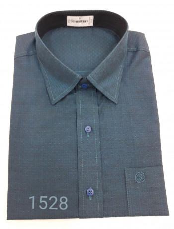 Camisa masculina manga curta ou longa maquineta
