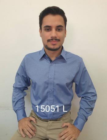Camisa masculina manga curta, longa e slim, maquineta, várias cores